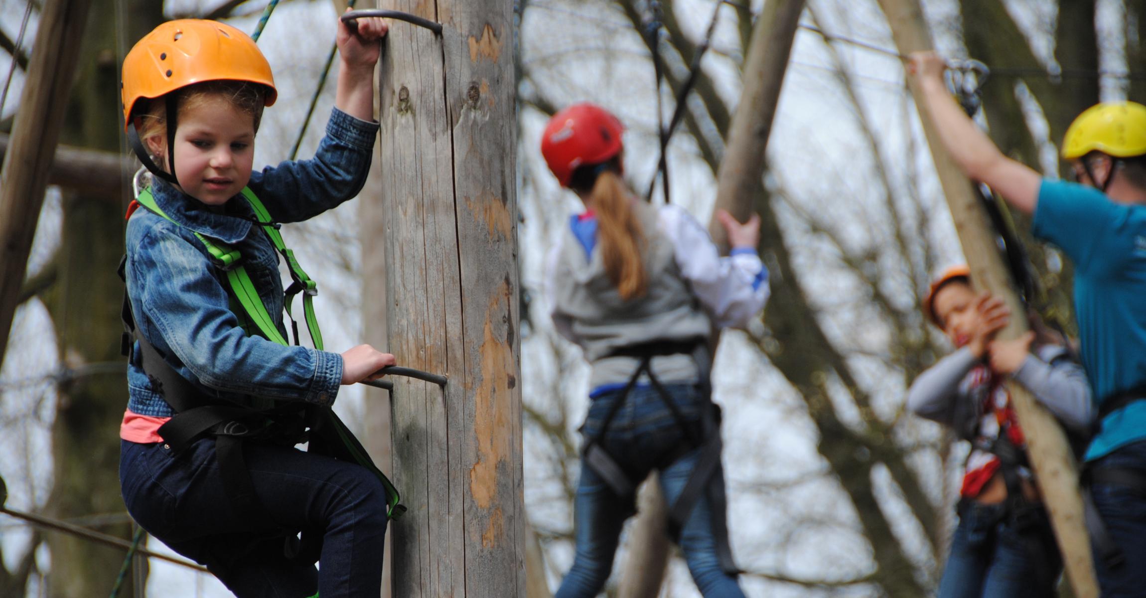 Kinderfeestje Eindhoven Op Noord klimmen