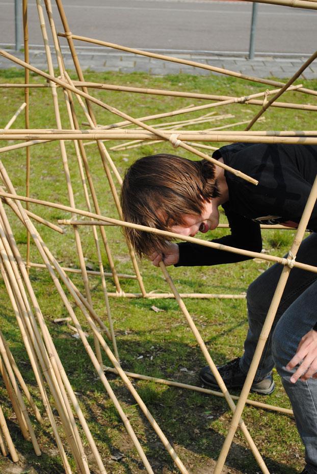 Bamboe bouwen – Kinderfeest