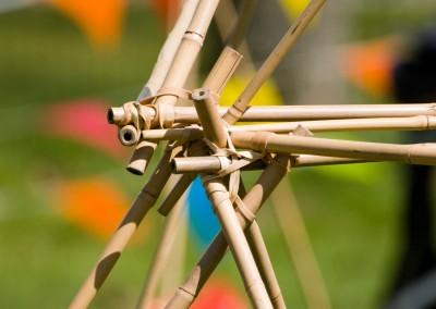 Bamboe bouwen