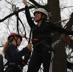 klimmen hoogteparcours