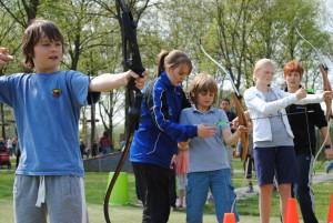 kinderfeest-boogschieten-schoolsportdag