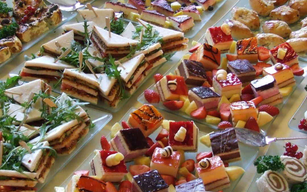 Lunch – High Tea – Borrel
