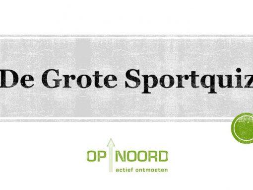 De Grote Op Noord Sportquiz